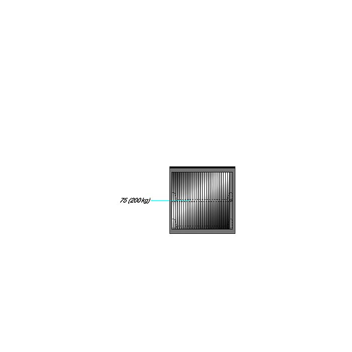 ThurMetall Maschinenschrank (BxTxH) 805x695x817mm KEY Lock Lichtblau RAL 5012 81.247.010
