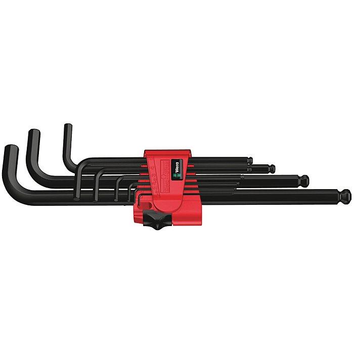 Wera 950/9 Hex-Plus 6 Winkelschlüsselsatz, metrisch, BlackLaser 05022086001