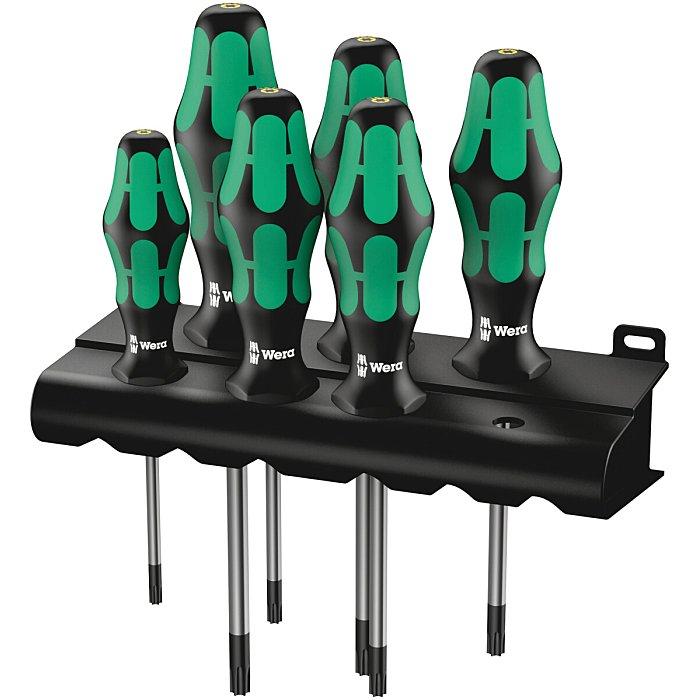 Wera 367/6 TORX HF Schraubendrehersatz mit Haltefunktion + Rack 05028059001