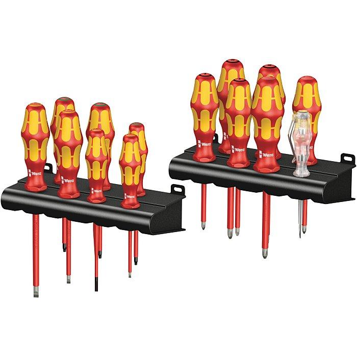 Wera Kraftform Big Pack 100 VDE Schraubendrehersatz + Rack 05105631001