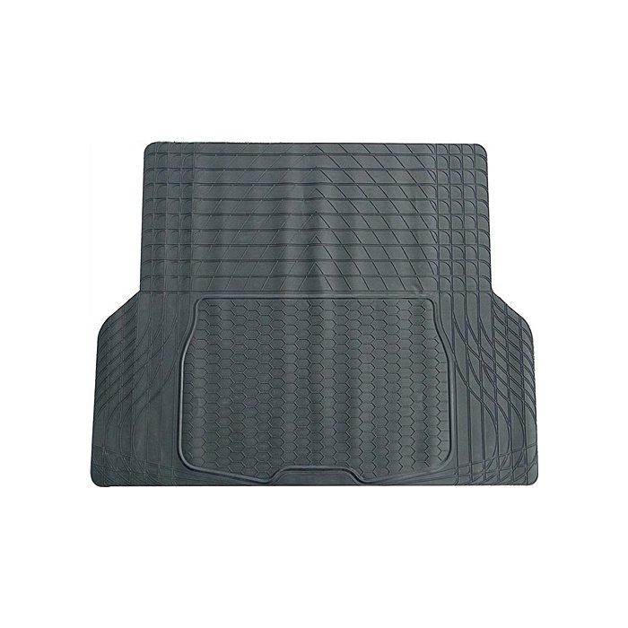 NORDWEST PVC-Kofferraummatte schwarz 108 x140cm zuschneidbar