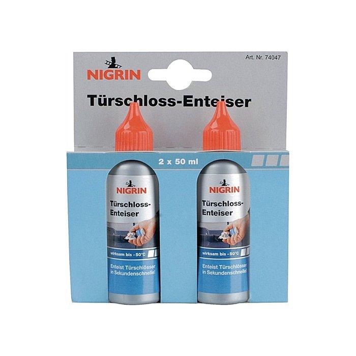 NORDWEST Türschloßenteiser Nigrin Blisterkarte a.2 Stück 50ml bis - 50 Grad