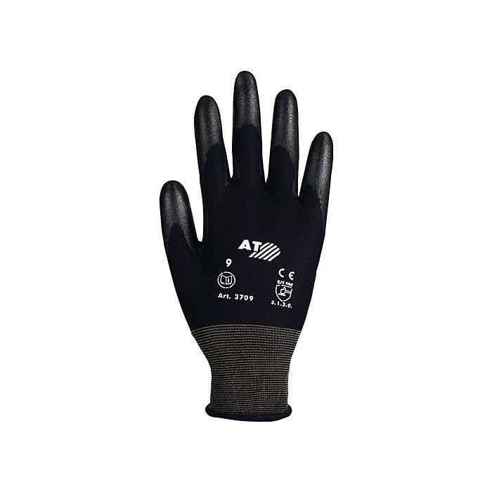 NORDWEST Handschuhe Gr.10 PU-teilbesch. flüssigkeitsabweisend EN388 Kat.II