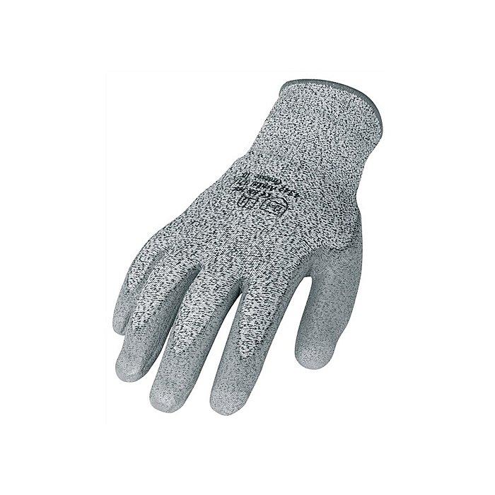 NORDWEST Schnittschutzhandschuhe Gr.8 grau PU-teilbeschichtet EN388 CE