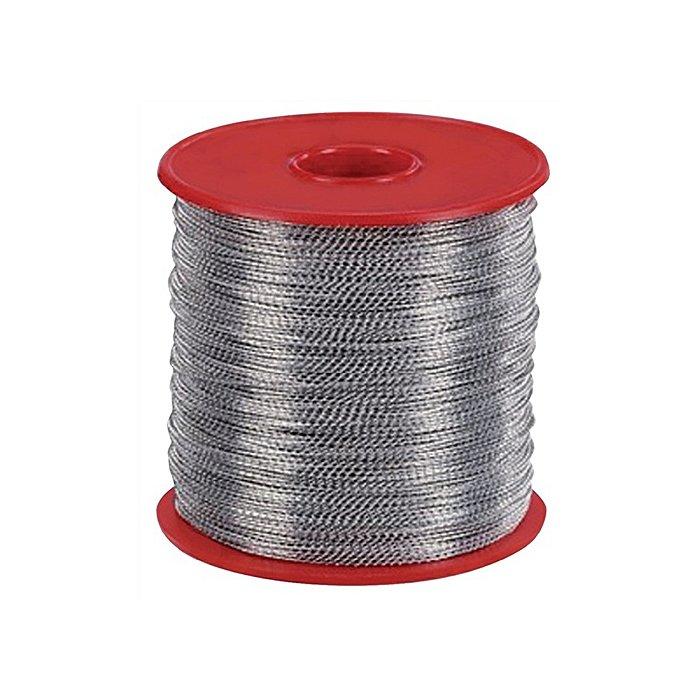 NORDWEST Plombendraht 0,5/0,3mm Eisen verz. 1/2kg/Bund geschnitten L.200mm