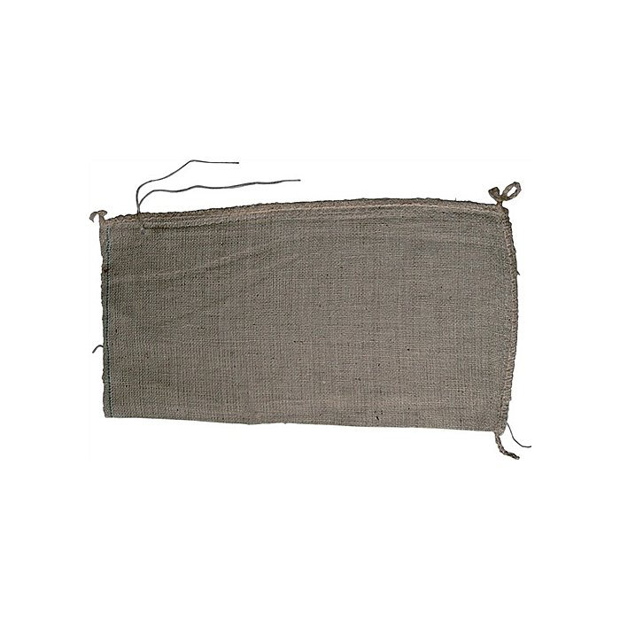 NORDWEST Jute-Sandsäcke Größe 30x60cm mit Jutebindeband gebündelt à 100 St. Qualiät 10 oz