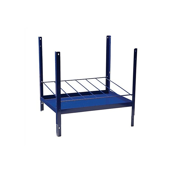 NORDWEST Regalelement Kartuschen 6reihig LOGS 170 H520xB540xT390mm Blau RAL 5022