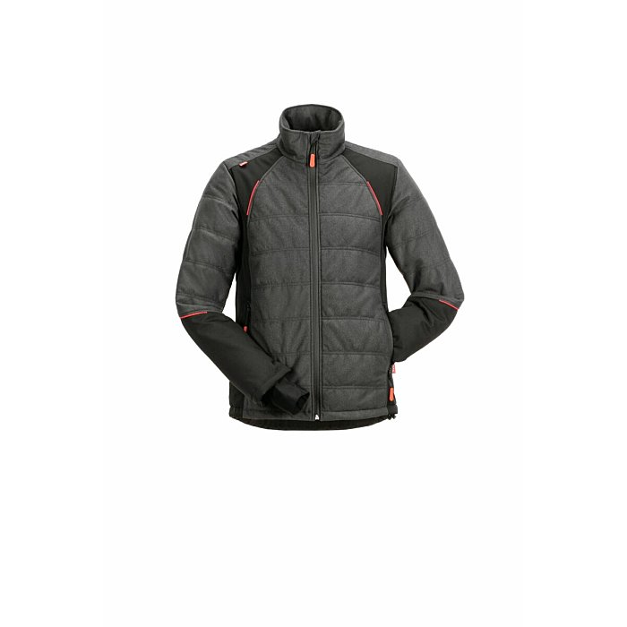 PLANAM Chilli Jacke grau/schwarz L 3680052