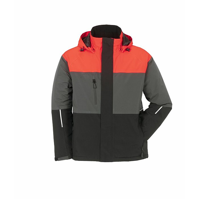 PLANAM Outdoor Aviator Jacke rot/grau/schwarz S 3755044