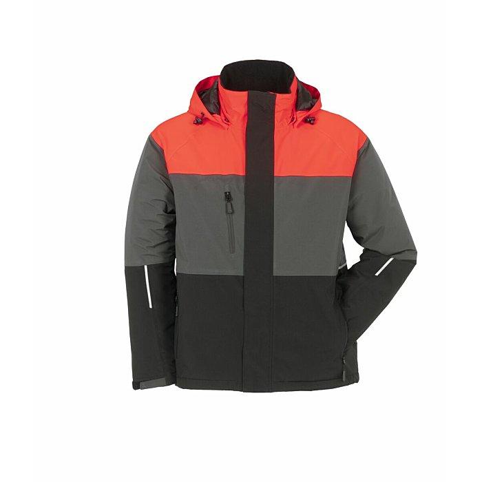 PLANAM Outdoor Aviator Jacke rot/grau/schwarz XXL 3755060