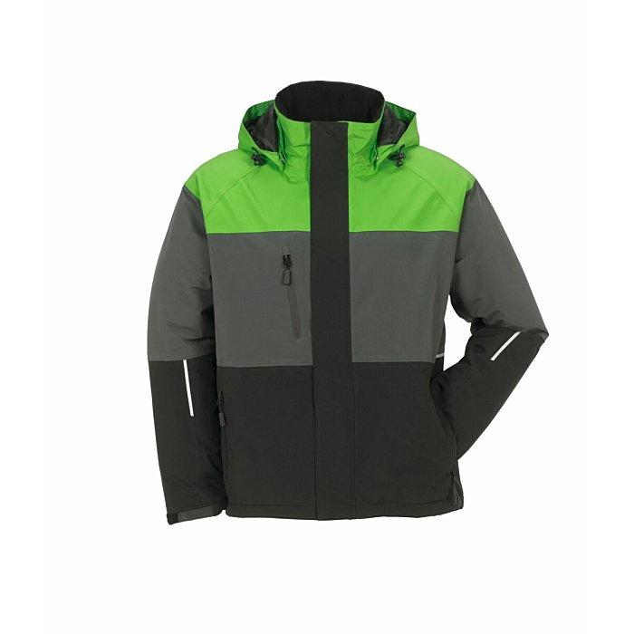 PLANAM Outdoor Aviator Jacke grün/grau/schwarz XXL 3756060