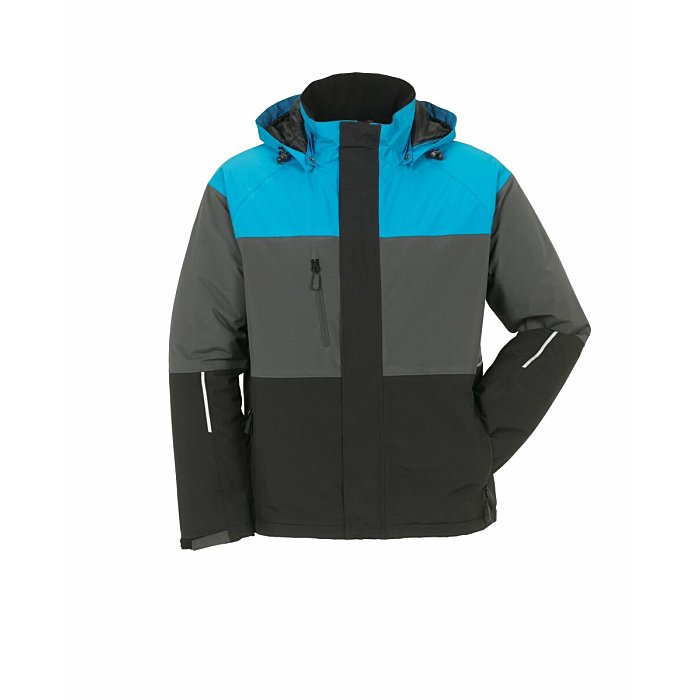 PLANAM Outdoor Aviator Jacke blau/grau/schwarz XL 3757056