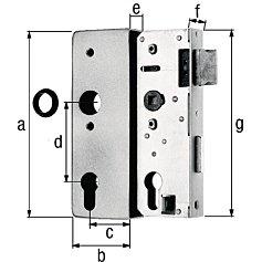 GAH-Alberts 141080 Haltegriff Wei/ß 211 mm