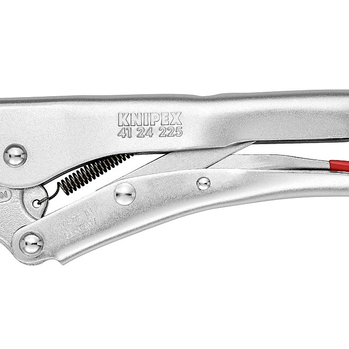 Knipex Grip Pliers nickel plated 225mm 41 24 225