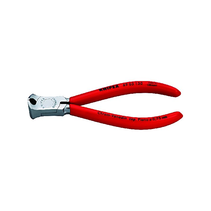 Knipex End Cutting Nipper for mechanics chrome plated plastic coated 130mm 69 03 130