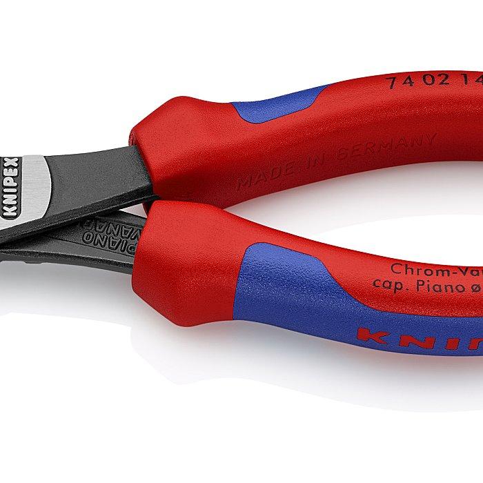 Knipex High Leverage Diagonal Cutter black atramentized 140mm 74 02 140