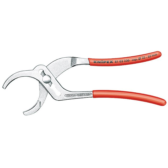 Knipex Pipe Gripping Pliers chrome plated 230mm 81 03 230
