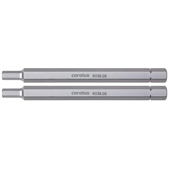 Screwdriver bit 5/16, 100 mm long, in-hex 7 mm 1517155
