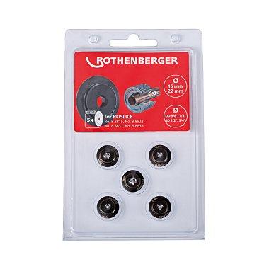 Rothenberger Schneidrad für ROSLICE 15+22mm, 5/8+7/8, 5 Stück 088841D