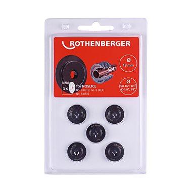 Rothenberger Schneidrad für ROSLICE 18mm, 1/2-3/4, 5 Stück 088842D