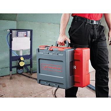 Rothenberger ROCASE 4212 Rot mit Clip für Bedienungsanleitung 1300003334