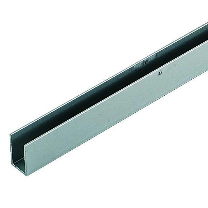 Woelm HELM GT-S 150 U-Blende Edelstahl Effekt, Maßlänge pro Meter 0058161