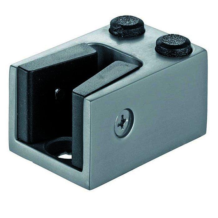 Woelm HELM 200 Anschlagpuffer unten Aluminium, schwarz beschichtet für Glas 200040006001