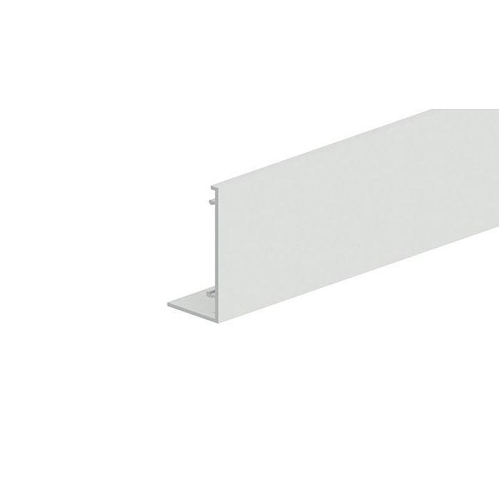 Woelm HELM GT-L Blende Edelstahl Effekt eloxiert, Lagerlänge 6 Meter 0057245