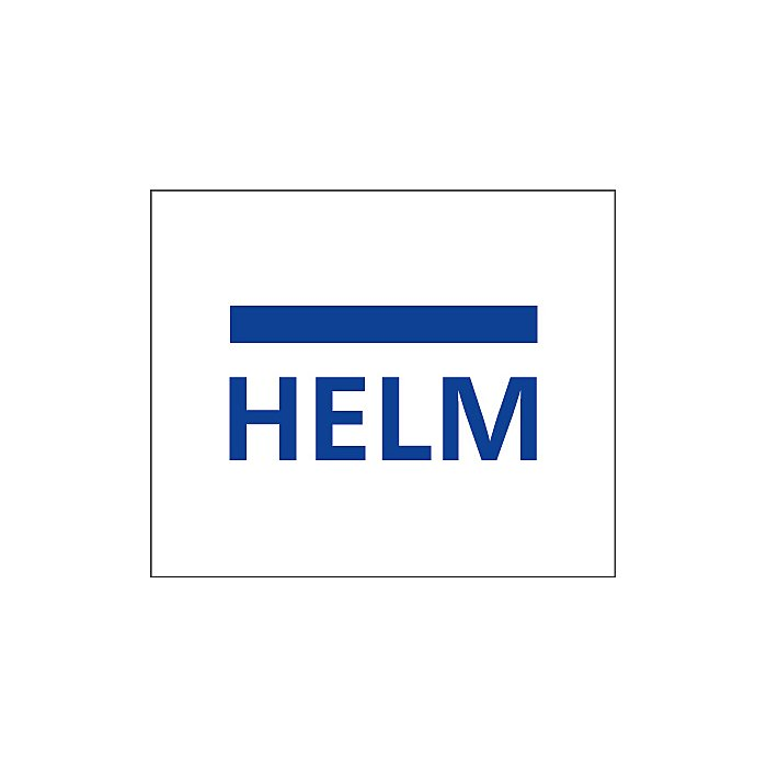 Woelm HELM GT-L 50 Set Edelstahl Effekt, Glas 8/10 mm, mit Dämpfer 0056402