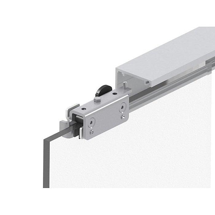 Woelm HELM GT-L 50 Garnitur Edelstahl Effekt, Dämpfer, 2000 mm, Wand 0056681