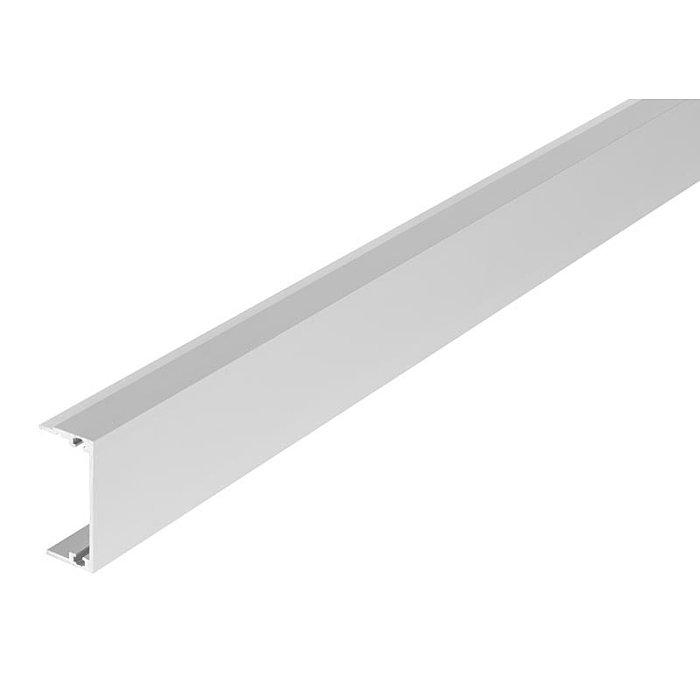 Woelm HELM GT-S 150 Blende Edelstahl Effekt, Lagerlänge 6 Meter 0058145