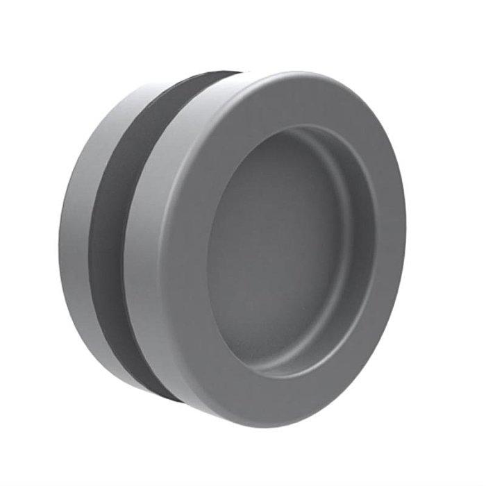 Woelm KWS 5252 Muschelgriffpar Ø 65 mm, für Glas- und Holztüren 525235