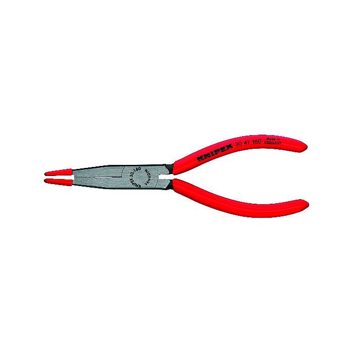 Knipex Pince pour lampes halogènes noire atramentisée gainées en plastique 160mm 30 41 160