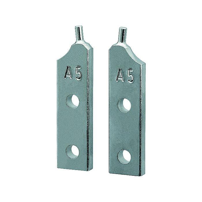 Knipex 1 paire de pointes de rechange pour 46 10 A5 46 19 A5