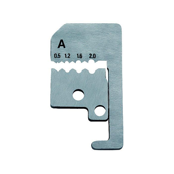 Knipex 1 paire de lames de rechange pour 12 11 180 avec couteaux de forme 180mm 12 19 180