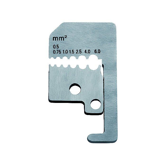 Knipex 1 paire de lames de rechange pour 12 21 180 avec couteaux de forme 180mm 12 29 180