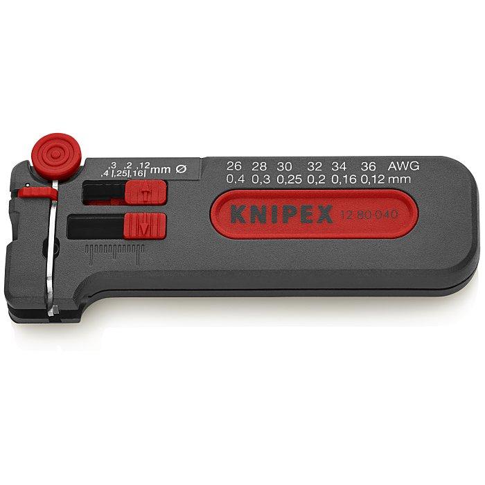 Knipex Outil à dénuder, petit modèle 100mm 12 80 040 SB
