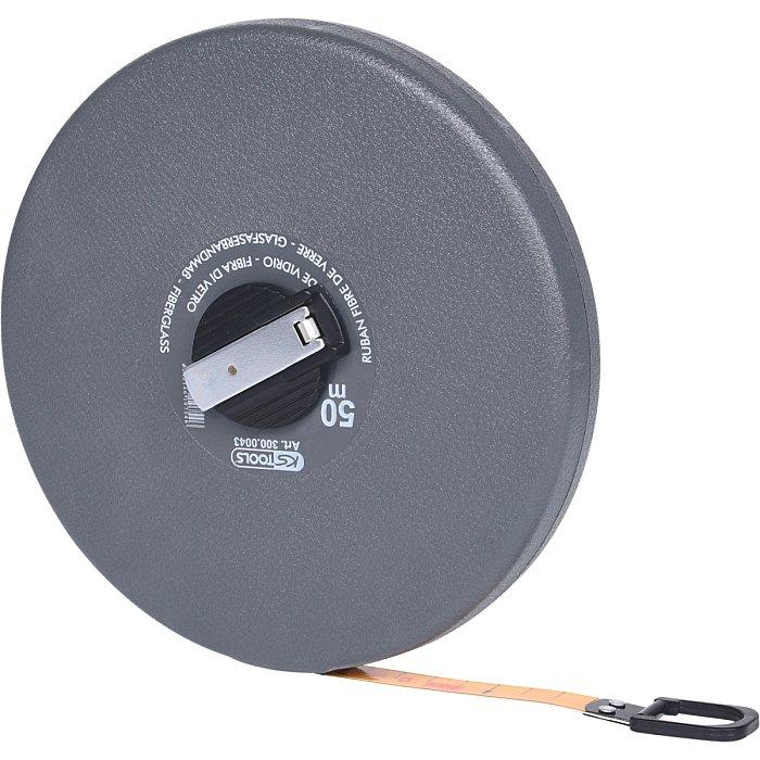 KS Tools Kapselbandmaß m.Kunststoffband, 50m 300.0043