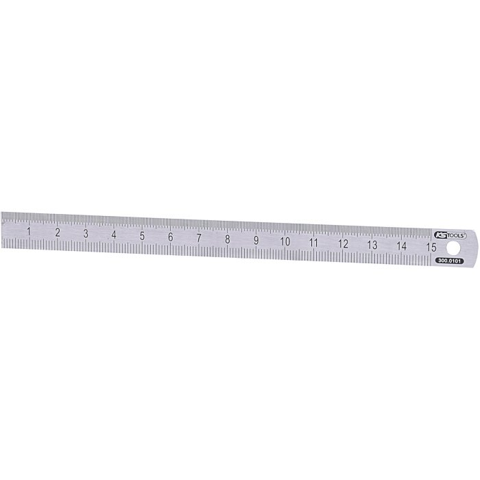 KS Tools Flexibler Stahlmaßstab, 150mm 300.0101