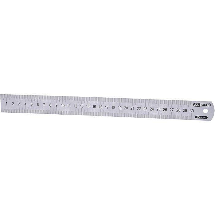 KS Tools Halbflexibler Stahlmaßstab, 300mm 300.0110
