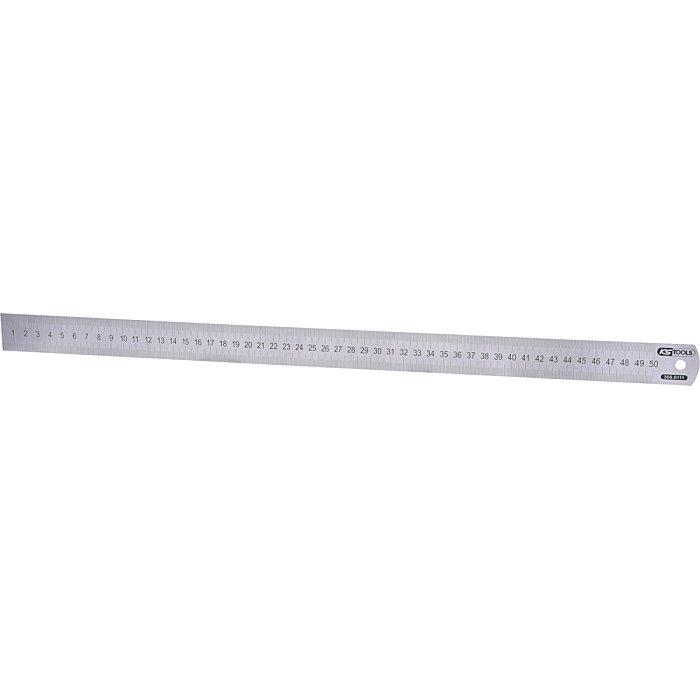 KS Tools Halbflexibler Stahlmaßstab, 500mm 500x30x0.8 (LxBxT) 300.0111
