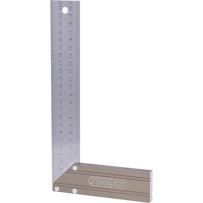 KS Tools Schreinerwinkel mit Alu-Schenkel, 250mm 300.0220