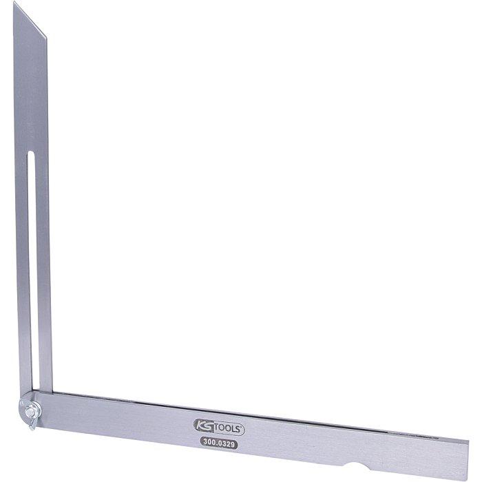 KS Tools Verstellbarer Winkel, Stahlschenkel, 300mm 300.0329