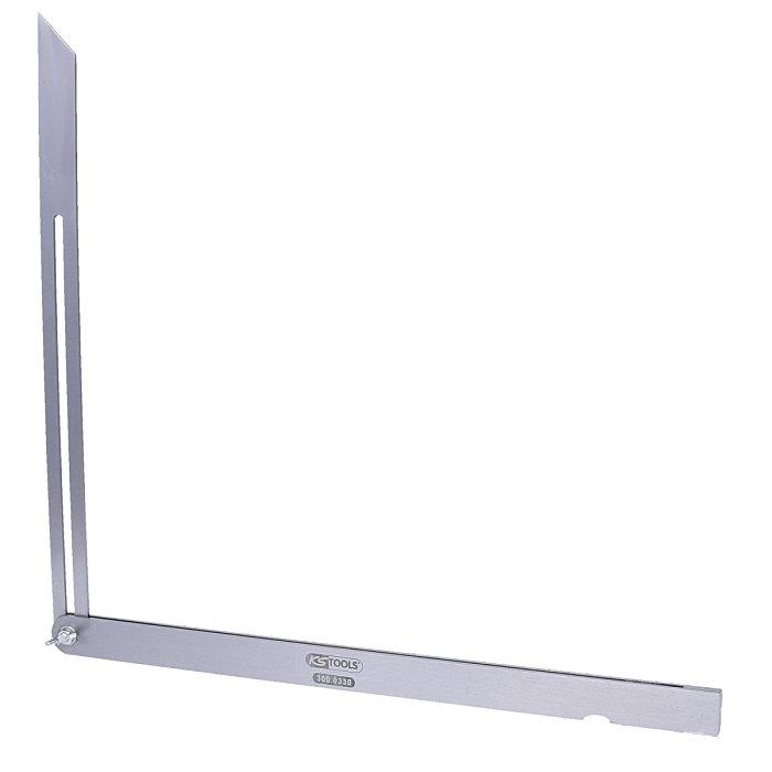 KS Tools Verstellbarer Winkel, Stahlschenkel, 400mm 300.0330