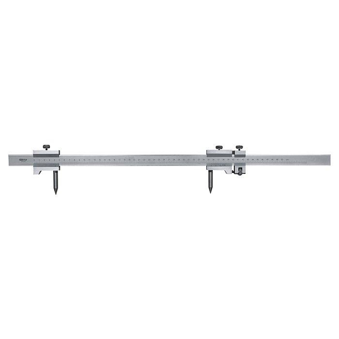 KS Tools Präzisions-Stangenzirkel, 0-500mm 300.0407