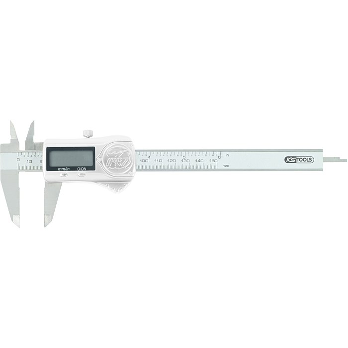 KS Tools Digital-MessschieberIP67 0-150mm, L=240mm 300.0531