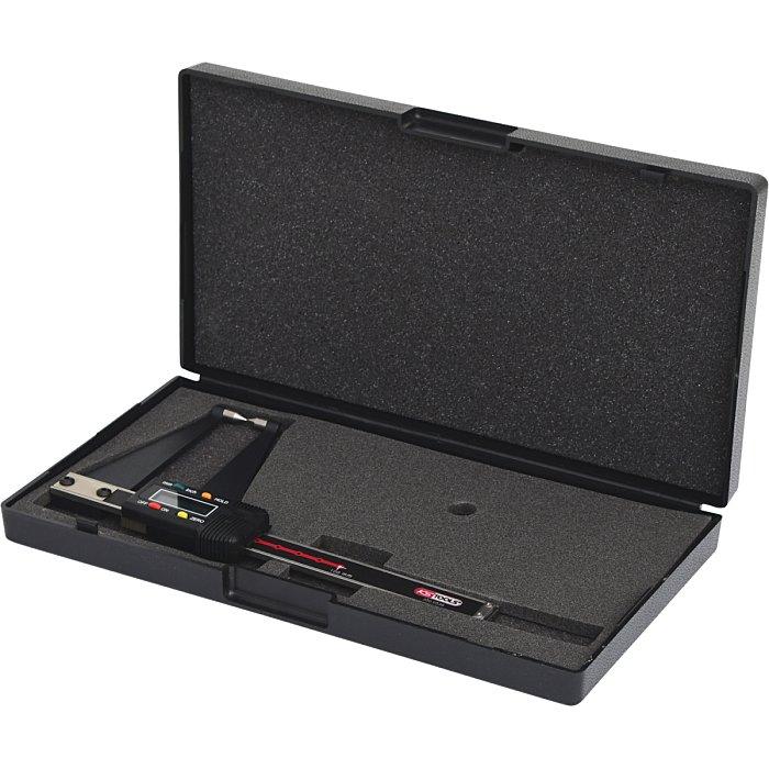 """KS Tools Digital-Bremsscheiben-Prüflehre LKW, 0-100/4-4"""", 0.01mm/94, 5mm 300.0539"""