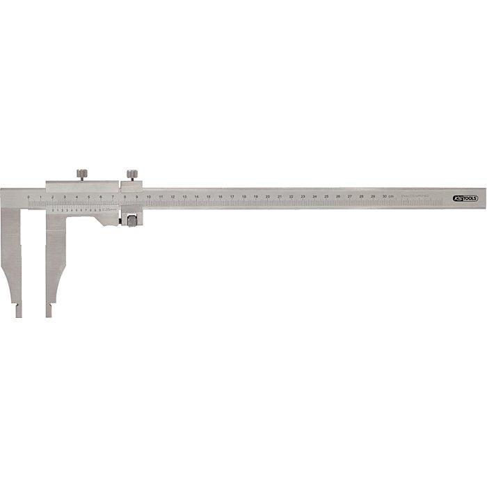 KS Tools Werkstatt-Messschieber o.Spitzen, 0-500mm, h.150mm 300.0545