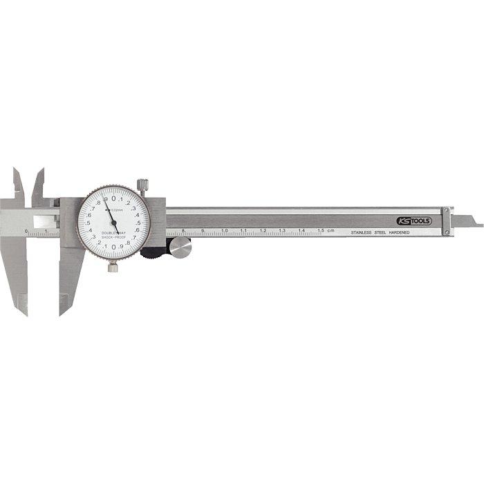 KS Tools Uhren-Messschieber, Messgenauigkeit +/-02 300.0547