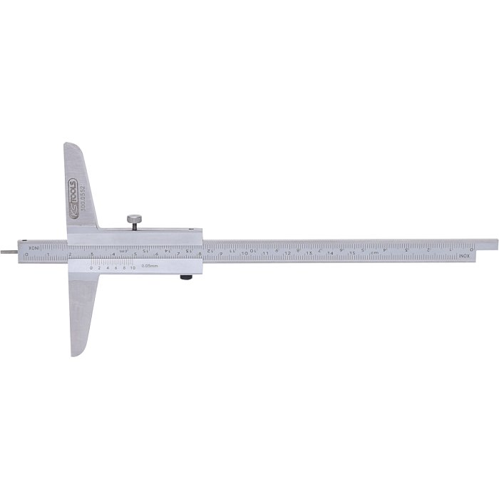 KS Tools Tiefenmessschieber m.Messstift, 0-150mm 300.0552